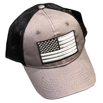 VCAPFLAG Grey Flag Hat