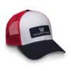 VCAPRWB Real White Blue Cap